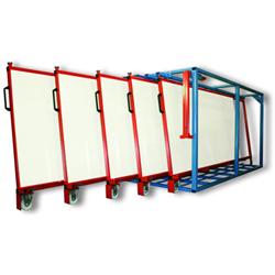 Rack t les vertical mobile stockage t les segema - Rack de stockage brico depot ...